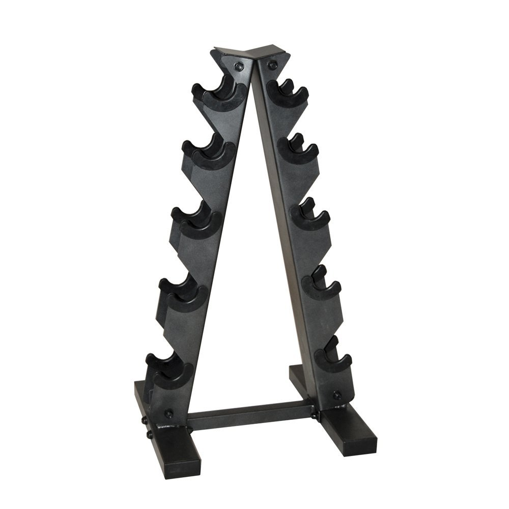 cap barbell black dumbbell rack